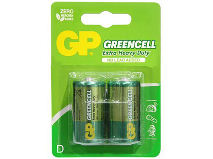 GP Batteries Greencell - D  2 pcs.의 그림