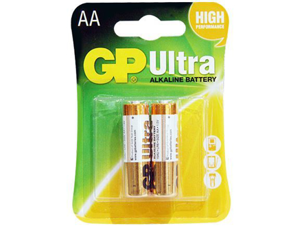 GP Batteries Ultra Alkaline - AA 2 pcs.의 그림