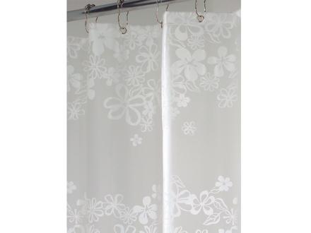 Interdesign Eva Series - Shower Curtain Fiore White의 그림