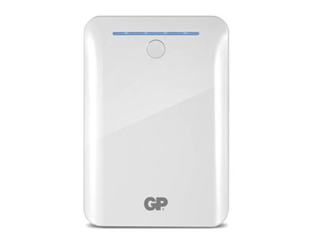GP Batteries DC POWER BANK PORTABLE 10400MAH WHITE의 그림