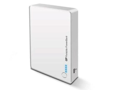 GP Batteries DC POWER BANK PORTABLE GP382 WHITE의 그림