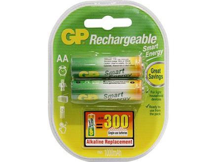 GP Batteries Smart Energy Rechargeable - AA 2 pcs.의 그림