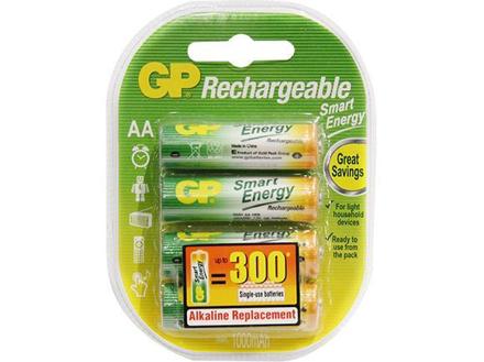 GP Batteries Smart Energy Rechargeable - AA 4 pcs.의 그림