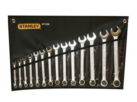 Stanley Slimline Combination Wrench Set 14PCS.   ST87036의 그림