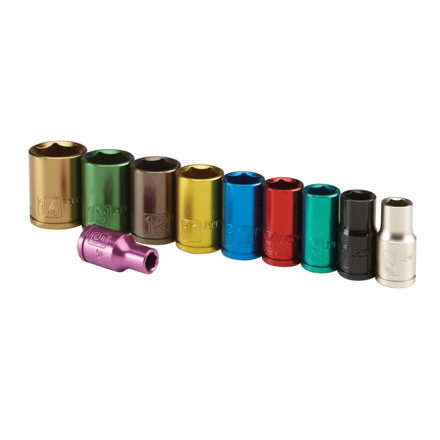 Picture of Lotus Colorful Socket 10 Pcs. 12 Pts. - LSW010
