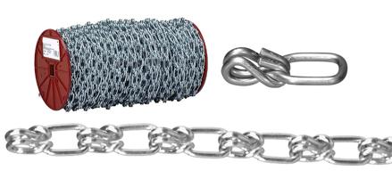 USA Campbell Lock Link - Single Loop Chain - Blu-Krome Finish의 그림