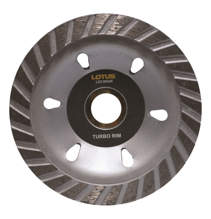 Lotus LDCW04R Diamond Cup Wheel (Rim)의 그림