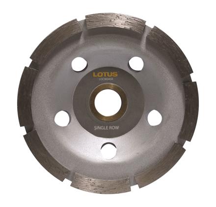 Lotus LDCW04SR Diamond Cup Wheel (Single)의 그림