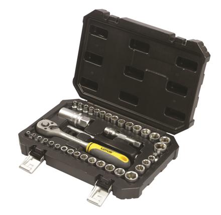 Lotus LSS340B Socket Set CRV 40pc 1/4 + 3/8의 그림