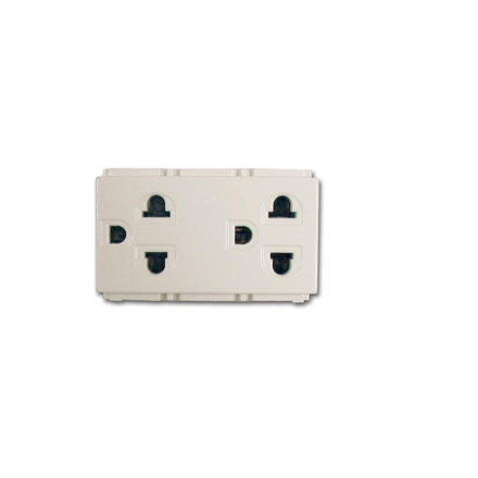 Royu Duplex Universal Outlet with Ground (Classic) RCO4의 그림
