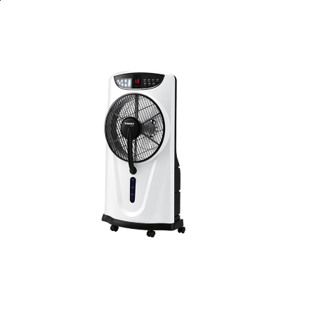 """Picture of Firefly 12"""" Oscillating 3-Speed Water Mist Fan with 9 LED Night Light FEL641"""