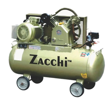 Zacchi Industrial Type Belt Air Compressor ZAC-100의 그림