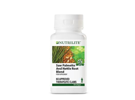 Nutrilite Saw Palmetto And Nettle Root Blend Softgel Capsule의 그림
