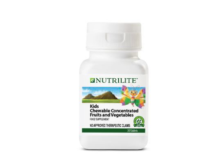 Picture of Nutrilite Kids Chewable Concentrated Fruits And Vegetables Tablet
