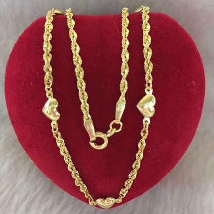 18K - Saudi Gold Jewelry, Necklace w/. Pendant 18K 2.8gram의 그림