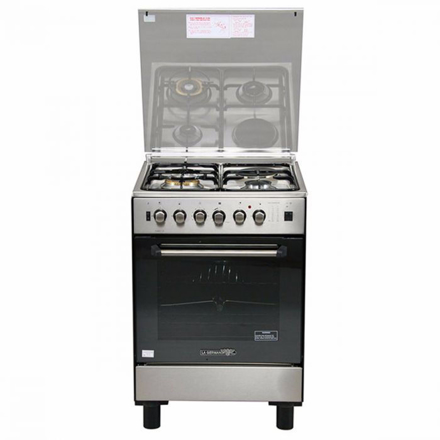 La Germania FS6031 21XTR 60cm range, 3 Gas + 1 Electric Hotplate | Gas Thermostat Oven with Safety Device │ Electric Grill with Rotisserie의 그림