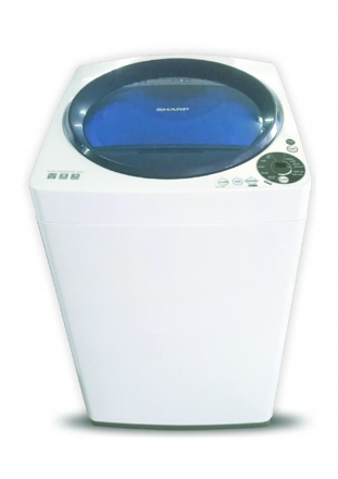 Picture of SHARP ES-U75GP-BL 7.5kg Stainless Holeless Tub