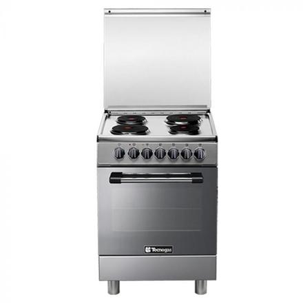 Tecnogas P3X66E04 60cm, 4 Electric Hotplates + Electric Multifunction Oven | Order Basis의 그림