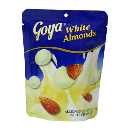 Goya White Almonds 37g의 그림