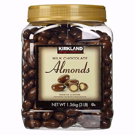 Kirkland Milk Chocolate Almonds의 그림