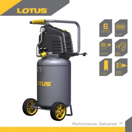 Lotus Air Compressor 10G 1.5HP LTVC3800의 그림