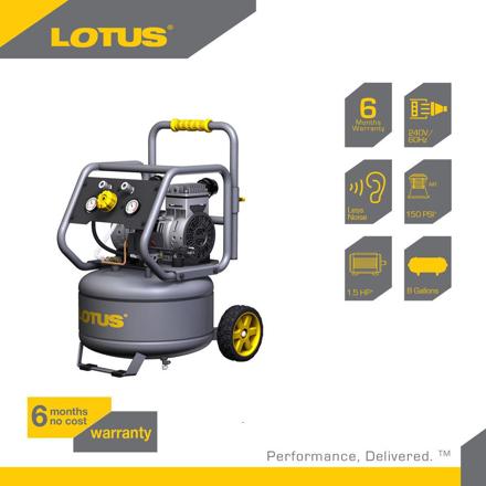 Lotus Air Compressor 8G 1.5HP LTVC3000S의 그림