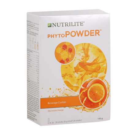 Picture of Nutrilite PhytoPowder Vitamins & Mineral Drink Mix ( Orange, Lemon)