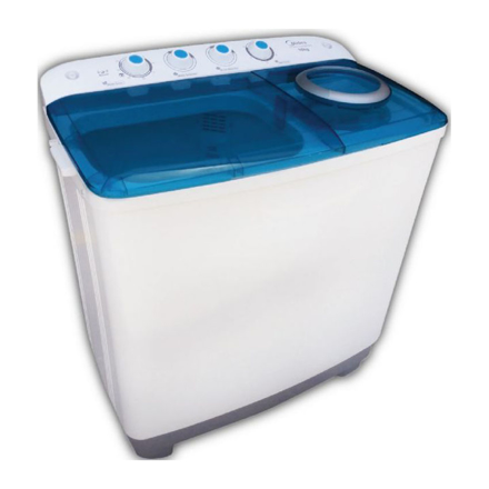 Midea Twin Tub Washing Machine  FP-90LTT100GMTM-B의 그림
