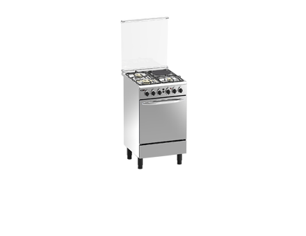 Picture of Markes  Batali Stainless Steel Finish Gas Range MRGS50
