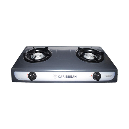 Picture of Caribbean Double Burner Gas Stove CEDB-2010