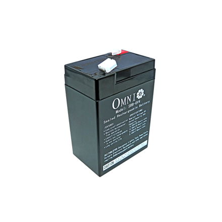 Sealed Lead Acid Battery 6V 4Ah SRB-6V4의 그림