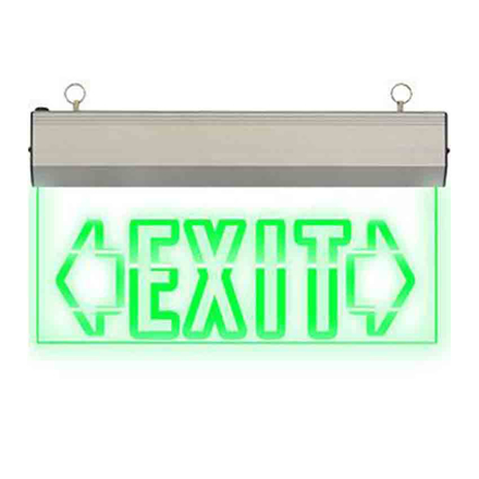 Exit Sign Double Arrow (Acrylic) LED/X-200/D의 그림
