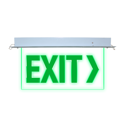 Exit Sign (Recessed) LED/X-300/L의 그림