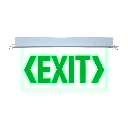Exit Sign (Recessed) LED/X-300/D의 그림