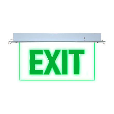 Exit Sign (Recessed) LED/X-300의 그림