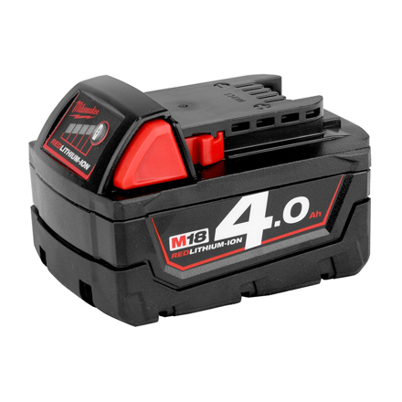 Battery Pack 4.0Ah Li-ion M18B4의 그림