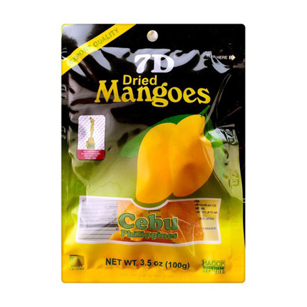 Picture of 7D Dried Mangoes , Cebu 7D Dried Mangoes ( 100 grams)