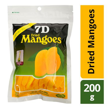7D Dried Mangoes , Cebu 7D Dried Mangoes ( 200 grams)의 그림