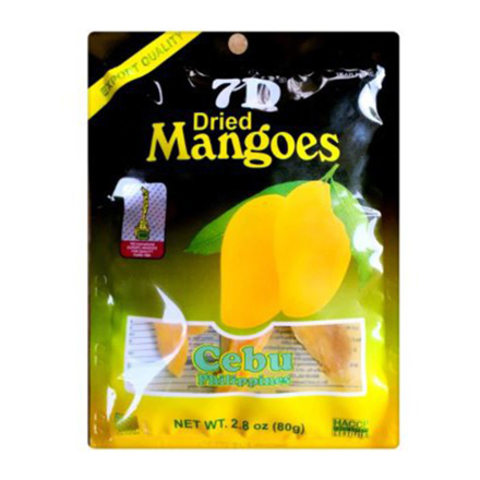 7D Dried Mangoes , Cebu 7D Dried Mangoes ( 80 grams)의 그림