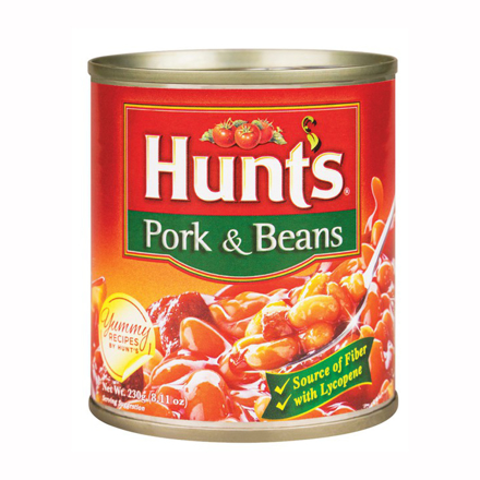 Hunt's Pork and Beans Original 230g의 그림