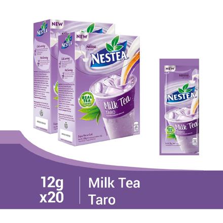 Nestea Milk Tea Taro 12g (Box of 10) - Pack of 2의 그림