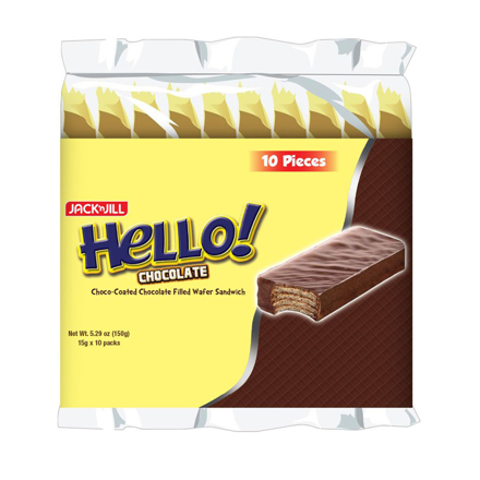 HELLO! Coated chocolate (10 x 15g)의 그림