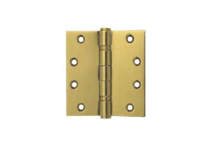 Yale 2 Ball Bearing Button Tipped Door Hinge 2BB 4x4X2 MM PVDB'의 그림