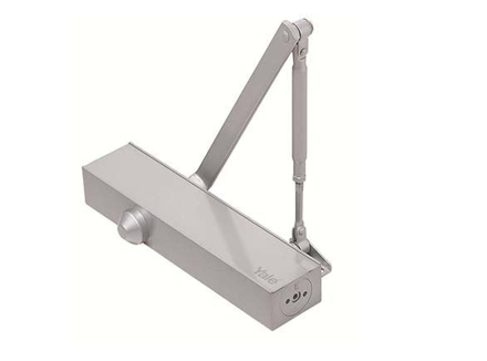 Yale Door Closer Surface Mounted Silver의 그림