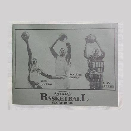 Big Official Basketball Score Book, U04BOBSB의 그림
