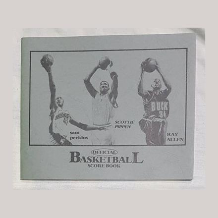 Small Official Basketball Score Book, U04SOBSB의 그림