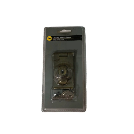 Yale V00954 US5, V00954 US26, Door Hasp and Staple with Lock, V00954_US5의 그림