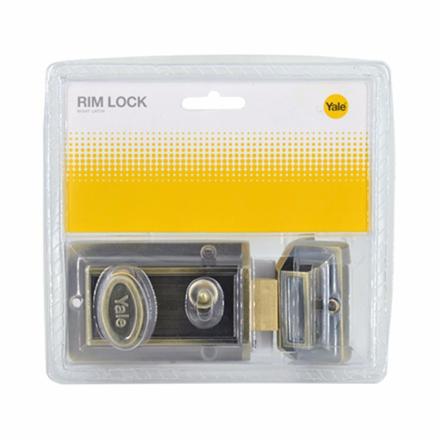 Yale V78GL, V78AB, Rim Lock Night Latch, V78564GL의 그림