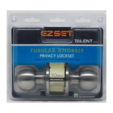 Picture of Talent Privacy Tubular Knobset, EZTLT330SS