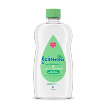 Johnson's Aloe Vera and Vitamin E Baby Oil, JOH22의 그림